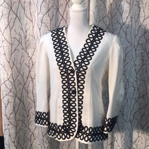 VINTAGE handmade linen jacket